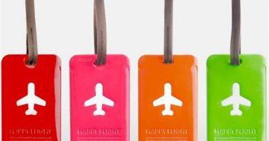étiquette bagages voyage